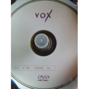 Dvd Virgen Vox - Incluye Fundas