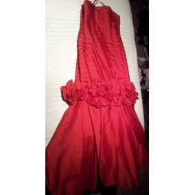 Vestido Rojo Maria Isabel Talla M