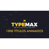 Projeto After Effects 1.000 Motion Textos Animados