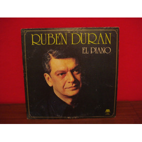 Ruben Duran El Piano - Lp Vinilo Folklore Argentino