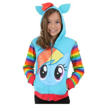 Disfraz Rainbow Dash My Little Pony Sudadera Hoodie