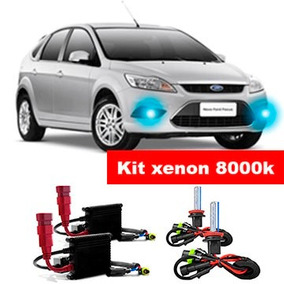 Kit Xenon H11 8000k Para Farol Milha Focus 2009 Ate 2013