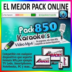 Karaoke Mp4 - 850 Videos Profesionales - Envío Por Email