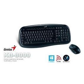 Teclado+mouse Wireless. Genius Kb-8000x Usb