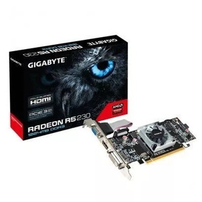 Placa De Video 1gb Ddr3 R5 230 Pcie Radeon Low Profile