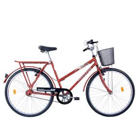 Bicicleta Onix, Aro 26, Freios V-brake, Vermelha - Houston