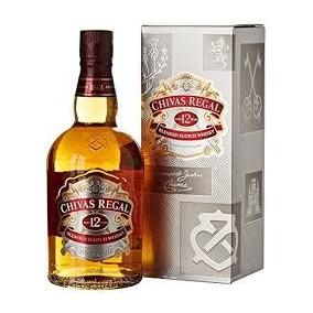 Whisky Chivas Regal 12 Años X 1 Litro C/est En Don Torcuato