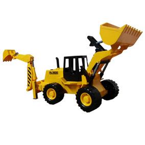 Trator Retro Escavadeira - Silmar - 6086 Rl-1600 Constructio