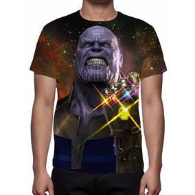 Camiseta Vingadores Guerra Infinita - Frete Grátis