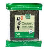 Un Orgánico Nori Sushi Norma Premium Algas Orgánicas Rojas