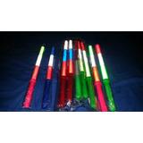 2 Bastao Colorido C/ Luzes Brinquedos E Festa Promoção