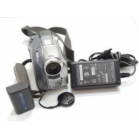 Camera Sony Dcr-dvd301 Handycam 120x Zoom Dvd