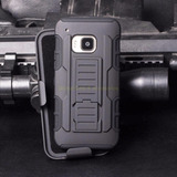 Case Htc One M9 / M8 Funda Gancho Holster Armor + Parante