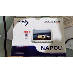Tela Lcd 7 Tv Digital Entr E Saída Av Usb Sd Fone Napoli