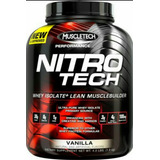 Nitro Tech 4lbs Muscletech Aumenta Tu Masa Muscular
