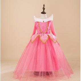 Vestido Fantasia Princesa Aurora Bela Adormecida