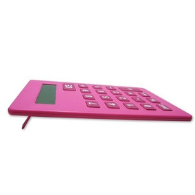 Calculadora De Mesa Grande Gigante Bk-5142 Benko Rosa