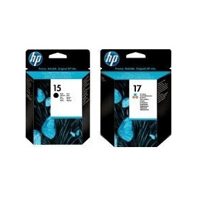 Cartucho Hp 6615 M,ais 6625 Original 15 E 17
