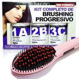 Kit De Brushing Progresivo + Cepillo Alisador Italian Origin
