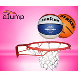 Aro De Basquet Nº5 + Pelota De Basket Striker Nº5