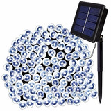 Luces Led Solar Decoracion 20 Mts 200 Led