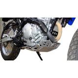 Cubre Carter De Aluminio Yamaha Xtz 250 Marca Motoperimetro
