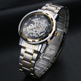 Relógio Esqueleto Automático