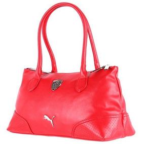 Bolsa Puma Ferrari Roja Mujer 071593-02 Look Trendy