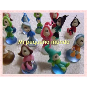 Souvenirs Duendes Mini En Porcelana Fria