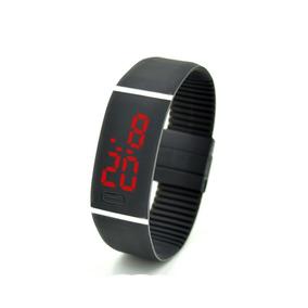 Reloj Led Digital Con Pantalla Táctil Para Estudiantes Negro