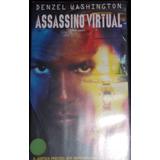Vhs Assassino Virtual Denzel Washington,