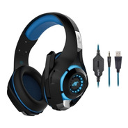 Auricular Gamer Nisuta Ns-300l Microfono Luz Led Usb Ps4 Pc