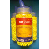 Bbbullet 6mm Plastic Airsoft Bbs, 0.12g, 2000 Rds