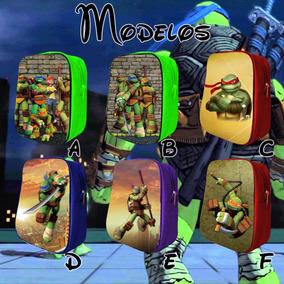 Mochilas Dulceros Tortugas Ninja Fiestas, Piñatas, Recuerdos