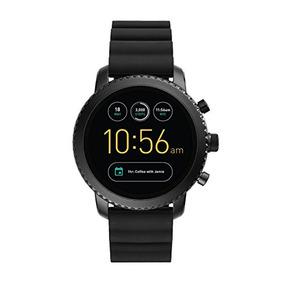 Fossil Gen 3 Smartwatch - Q Explorist Black Silicone Ftw4005