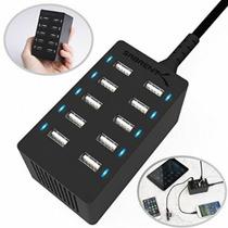 Cargador Rápido Ipad Iphone Tabla Teléfono 10 Puertos 60watt