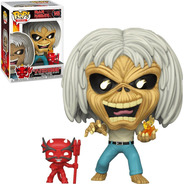 Boneco Funko Pop Rocks Iron Maiden -  Eddie 145