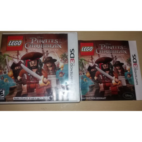 Caixa + Encarte + Manual Do Jogo Lego Piratas Do Caribe R$25