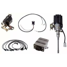 Kit Ignição Eletrônica Jeep Willys Rural F75 Aero 6cc C/cabo