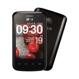 Celular Lg E-420 L1 Câmera 3g Android 4.1.2 Dual Chip Preto