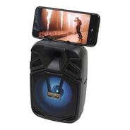 Bocina 4 Pulgadas Portatil Bluetooth Soporte Celular Usb