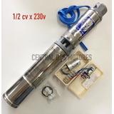 Bomba Sub. Monof.4r3 Pa-07 1/2cv X 230v + Control Box - Leão