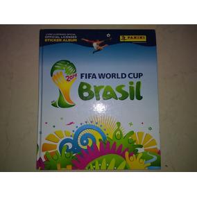 Album Copa Do Mundo 2014 Capa Dura Completo