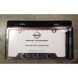 Porta Placa Nissan Original Tsuru Altima Versa Platina Front