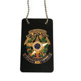 Distintivo Delegada De Policia Civil- Frete Gratis