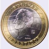 Colección Monedas 1 Bolívar Años 2007 09 Y 12 Borde Dorado