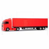 Mini Caminhão Carreta Diamond Truck Bau 67cm Roma Brinquedos