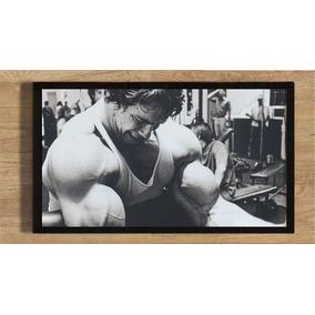 Quadro Com Moldura Poster 35x25 Arnold Schwarzenegger