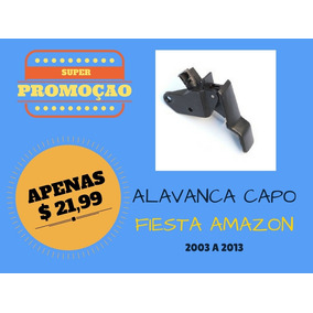 Puxador Alavanca Maçaneta Abrir Capo Fiesta 2003 A 2013