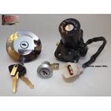 Kit Chave Ignição Fazer 250cc 2007 Até 2010 Completo Gjb